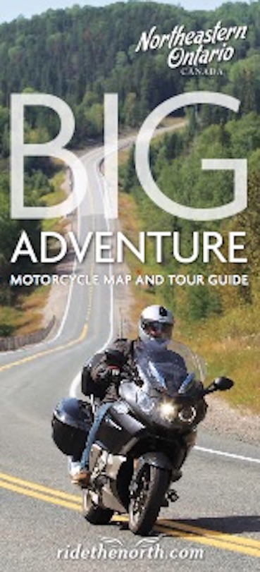Motorcycle Northeastern Ontario Map