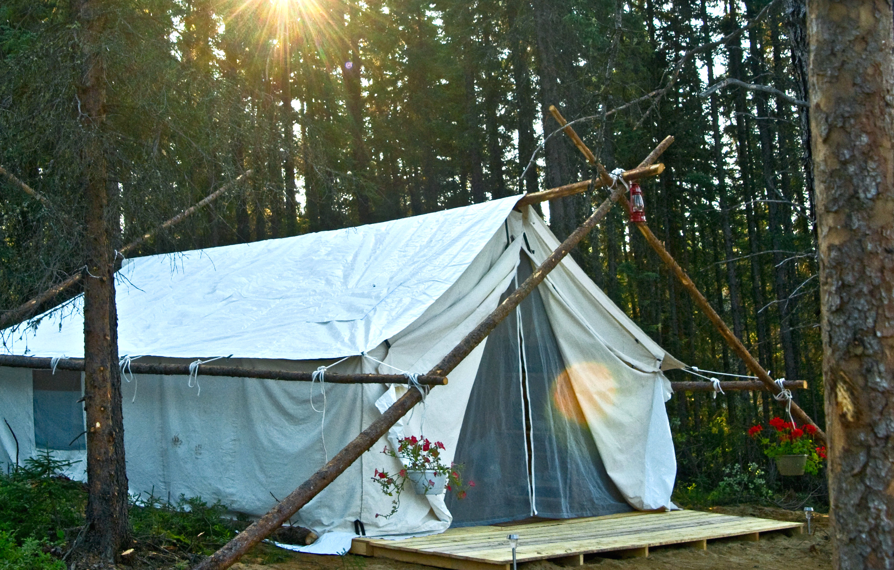 Glamping at WIldExodus