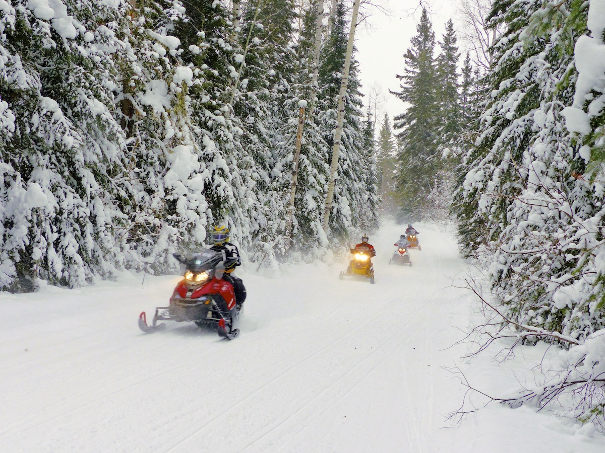 Snowmobilers' Picks – Top 5 Snow Tours in the Region