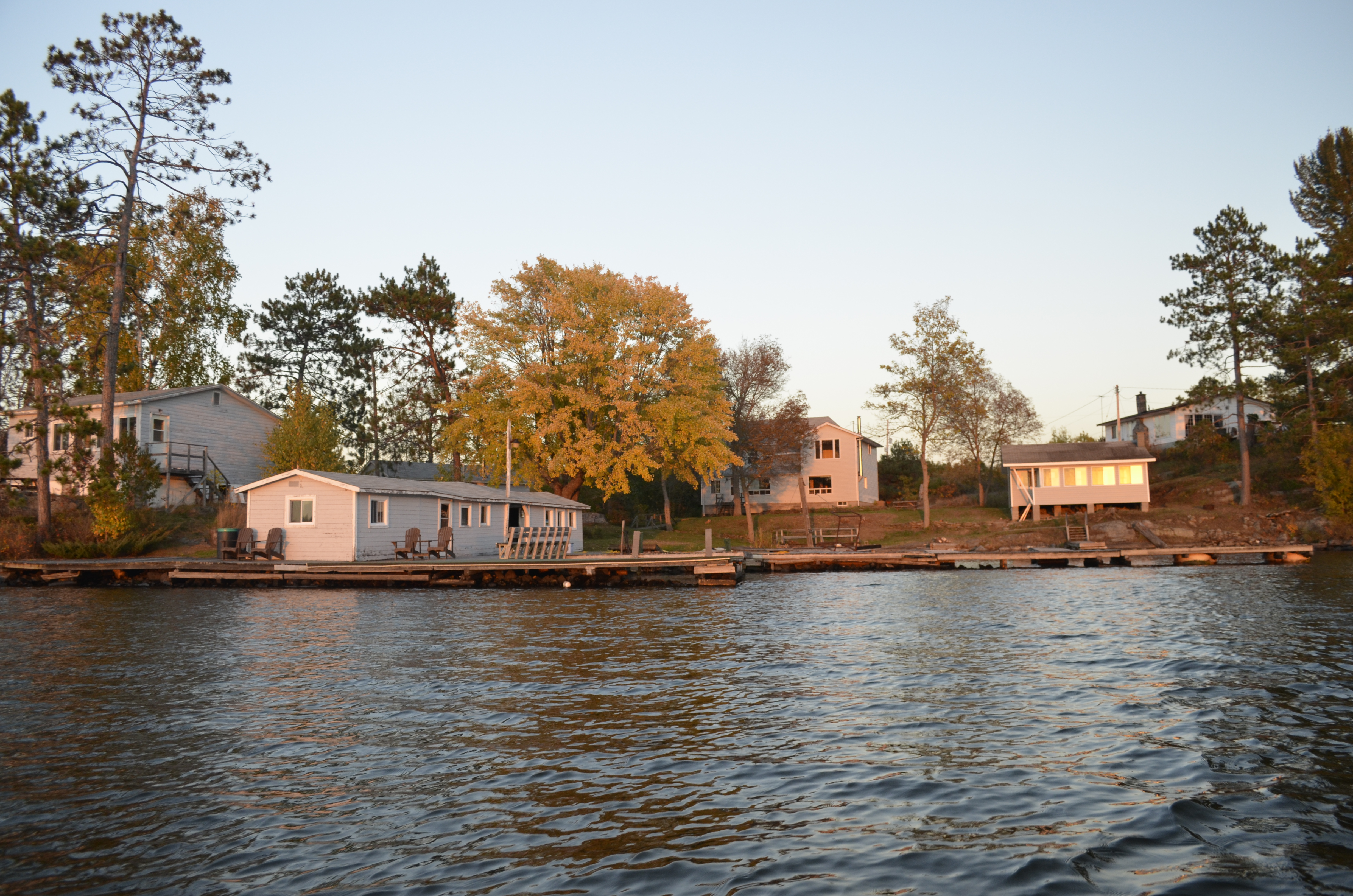 Musky Island View Cottages Northeastern Ontario Canada
