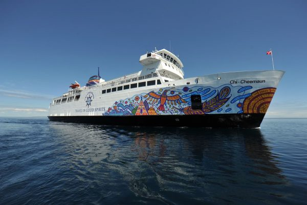 Ferry Boat To Manitoulin Island