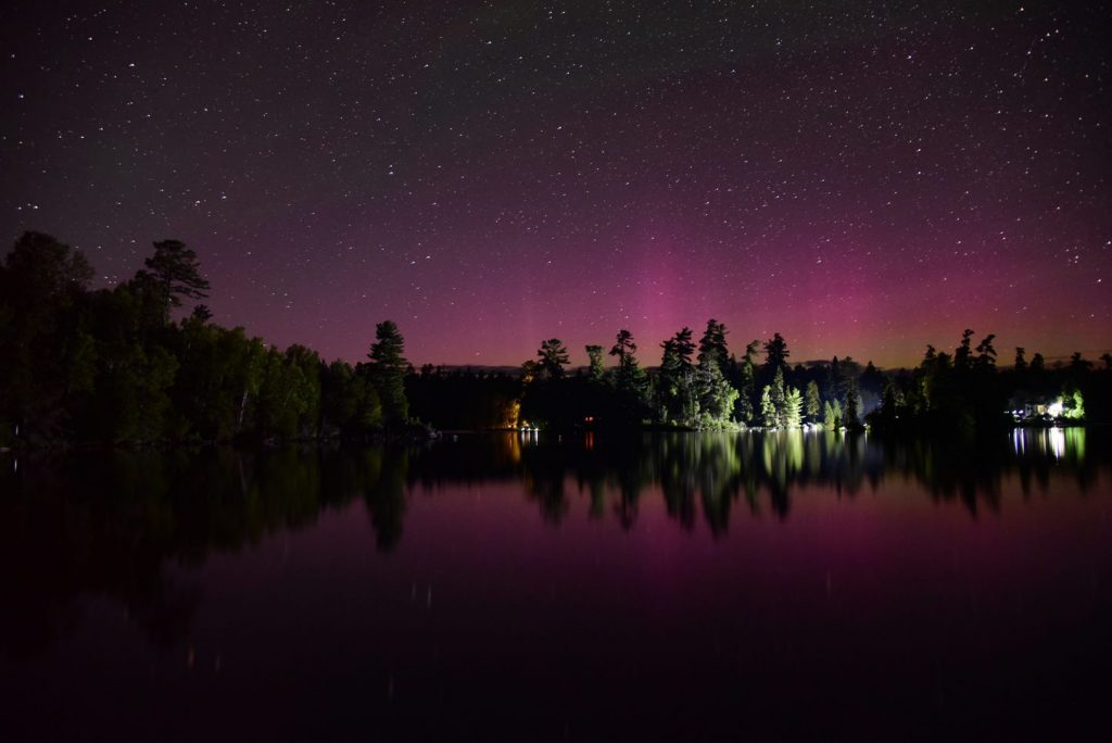 Northern Lights at Temagami