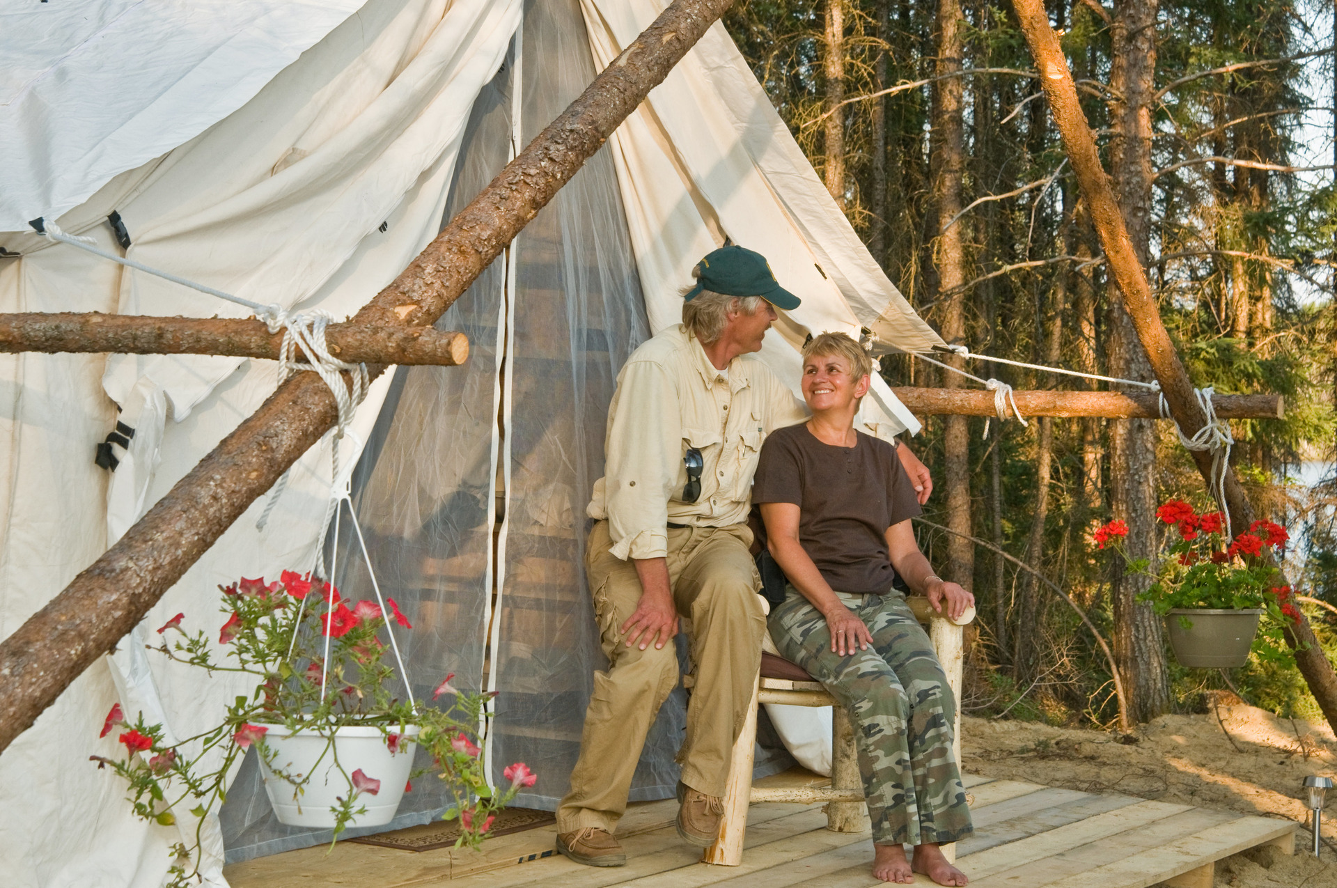 glamping timmins northeastern ontario canada. Black Bedroom Furniture Sets. Home Design Ideas