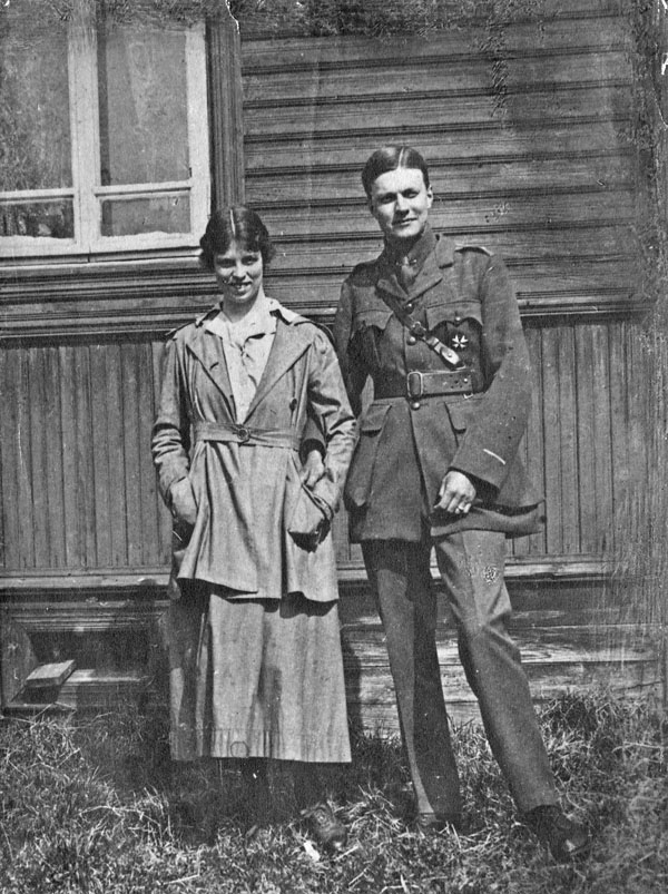 Gleb de Kiriline and Louise de Kiriline.