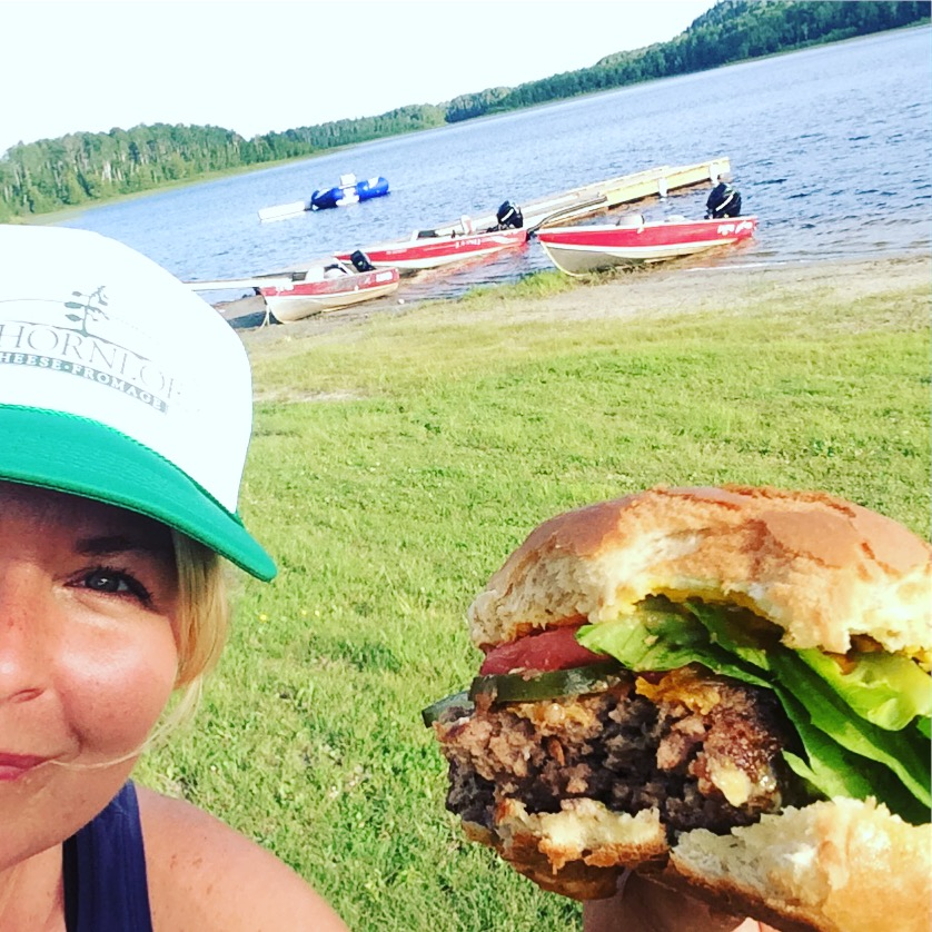 pam burger with boats