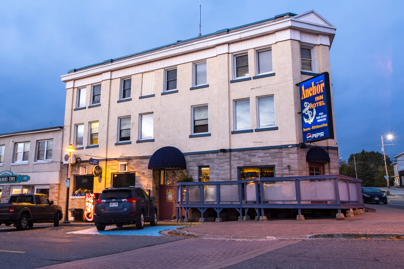 The Anchor Inn Hotel: From Prohibition to Present