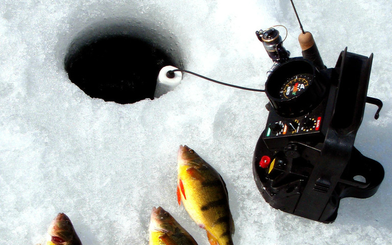 What 39 s in your tackle box the best lures for ice fishing for New ice fishing gear 2017