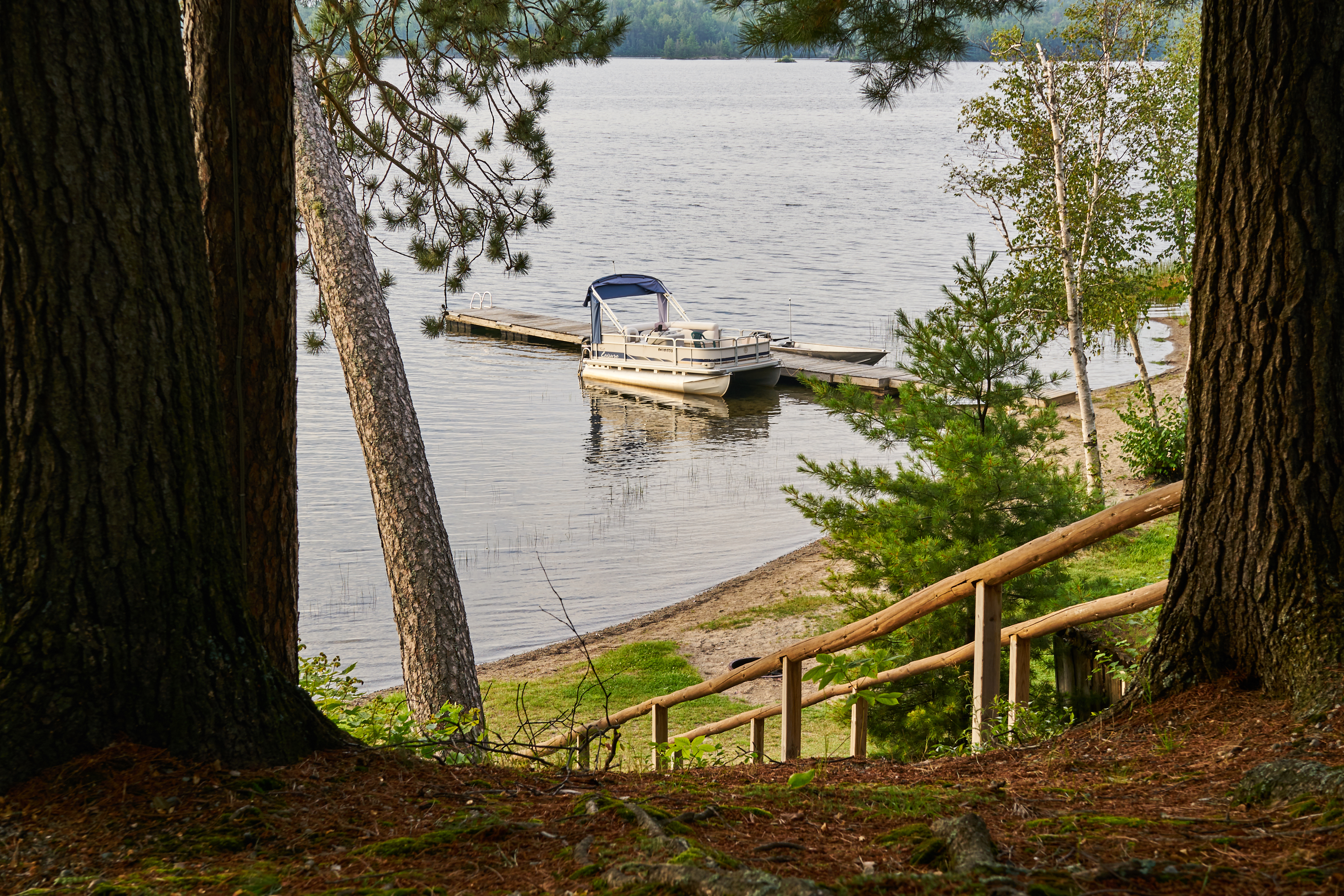 Explore a Canadian Shield Lake from Sportsman's Lodge Wilderness Resort