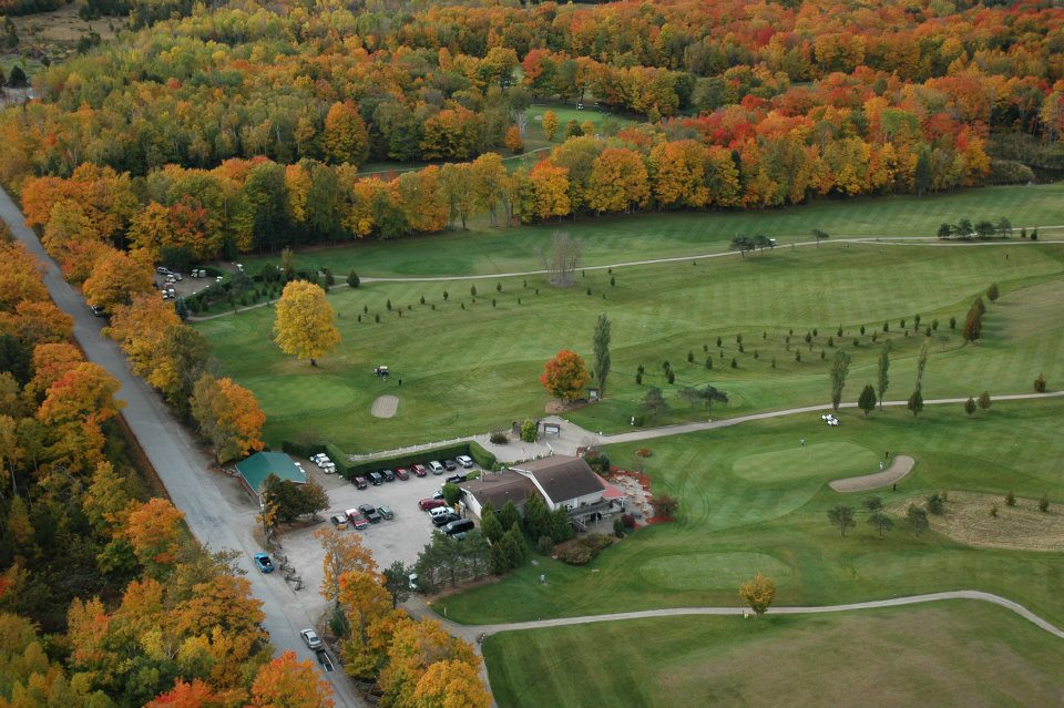 Manitoulin Island Country Club aerial shot
