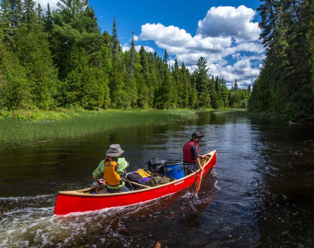 Canoeing in Temagami