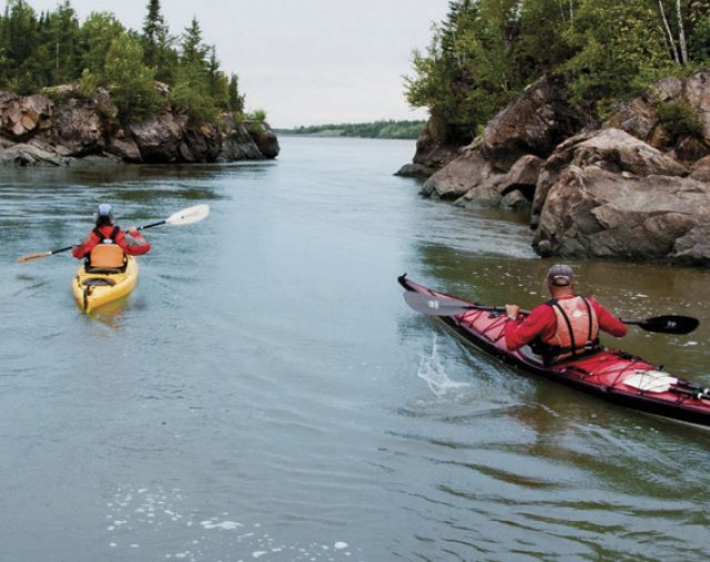 Timmins Ontario Kayaking