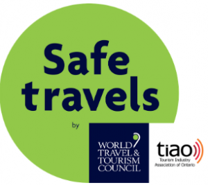 Safe Travels Stamp - Administered by TIAO