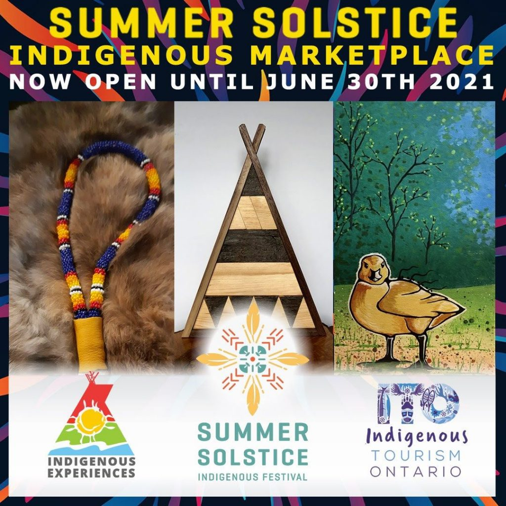 Shop the Summer solstice Indigenous Marketplace this year
