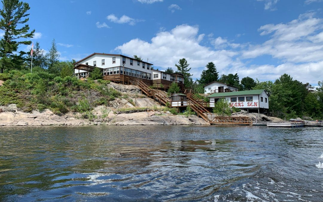 Reel in Another World at Bear's Den Lodge